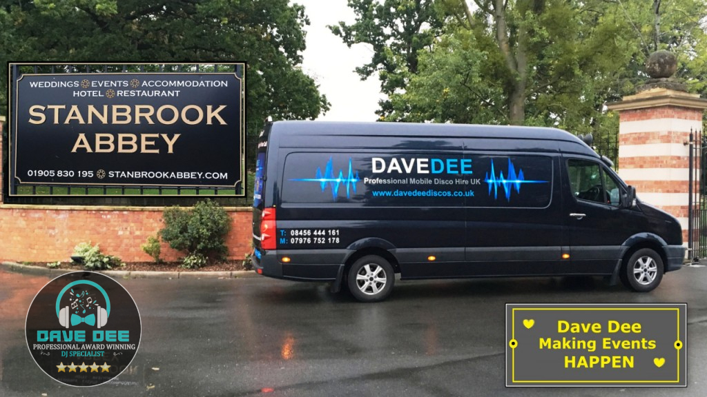 Disco Hire @ Stanbrook Abby Worcester, WR2 4TY